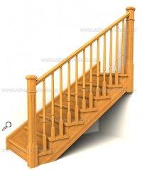 dřevené schodiště
